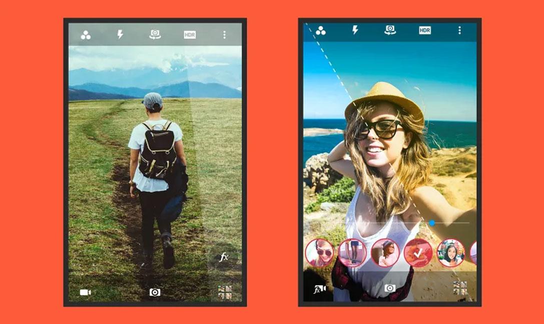 بهترین اپلیکیشن های دوربین گوشی CameraMX