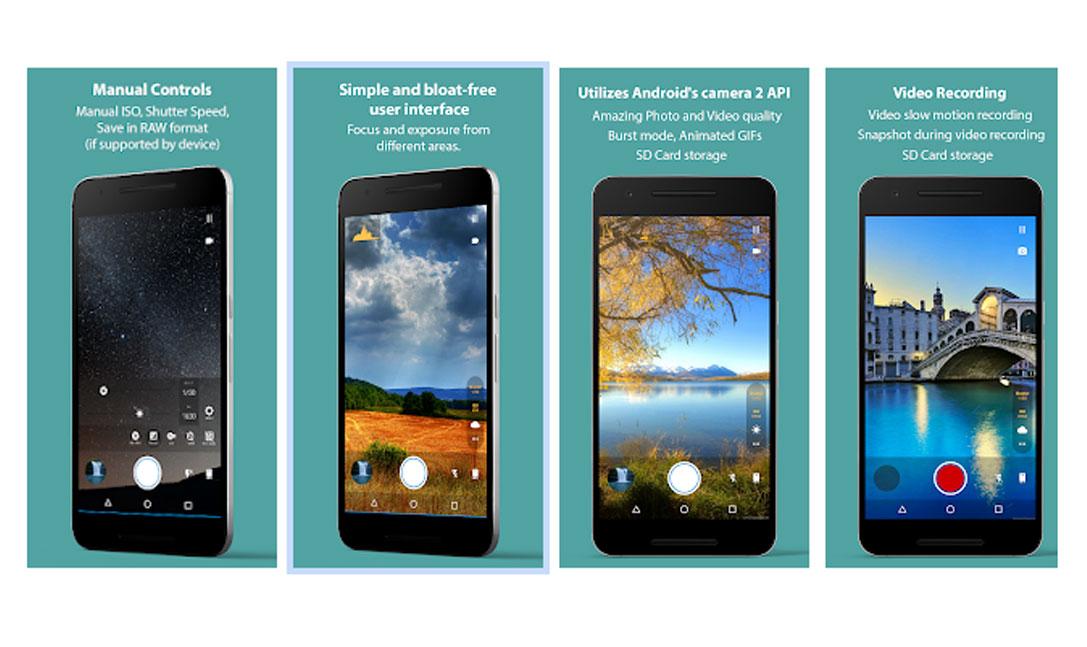 بهترین اپلیکیشن های دوربین گوشی-footej