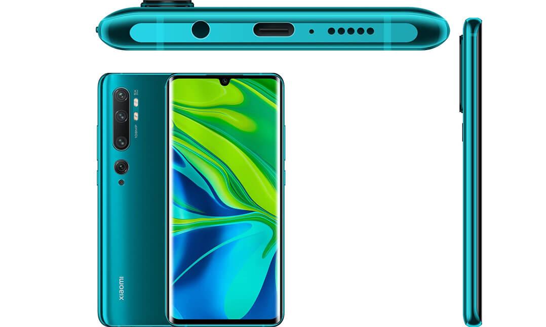 بهترین گوشی های شیائومی 2020 - xiaomi mi note 10