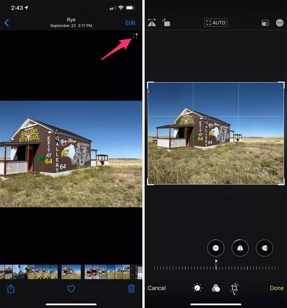 قابلیت زوم معکوس در ترفندهای عکاسی با آیفون 11 پرو مکس