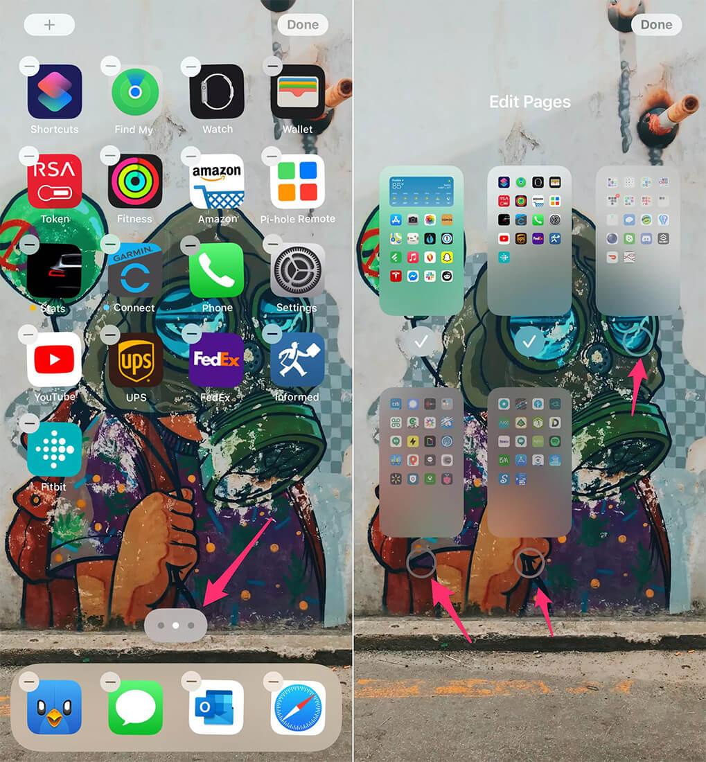 ادیت home screen در ios 14.3